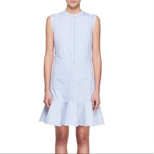 Victoria Victoria Beckham Striped Sleeveless Dress